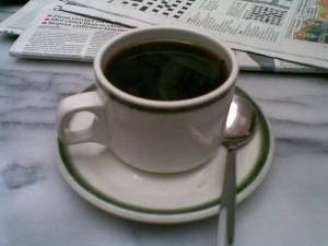 Mm, coffee.