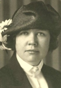 Rose Wilder Lane - she wore one heck of a hat