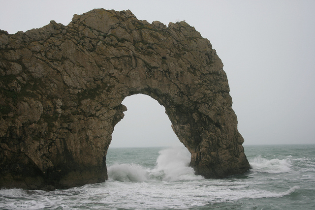 Durdle Door in Dorset - picture by damo1977 via Flickr Creative Commons