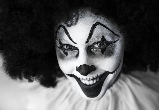 Clowns are funny, right? Right?