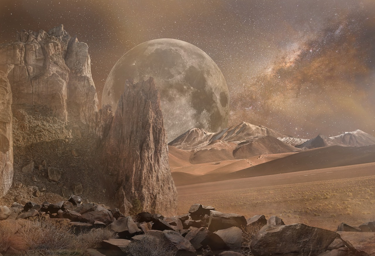 Lines in the Rock – a science fiction flash story