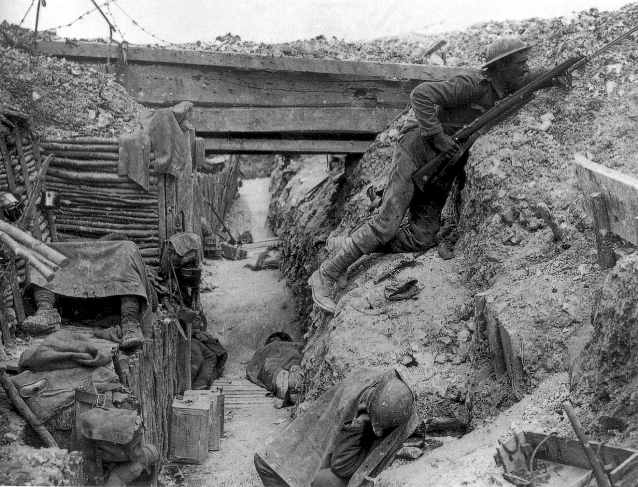 The Dirt Beneath Messines – a flash historical story