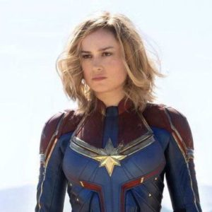 Captain Marvel looking badass