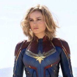 Captain Marvel looking badass
