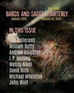 Cover for Bards and Sages Quarterly January 2020