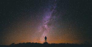 Image of a night sky.