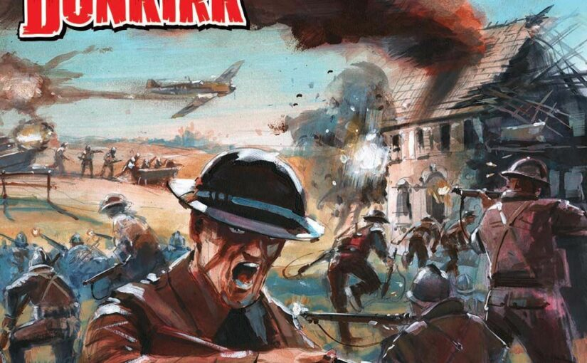 Dodger's Dunkirk –  A Commando Comic